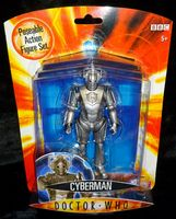 Doctor Who: Cyberman - Action Figure - Sealed On Card